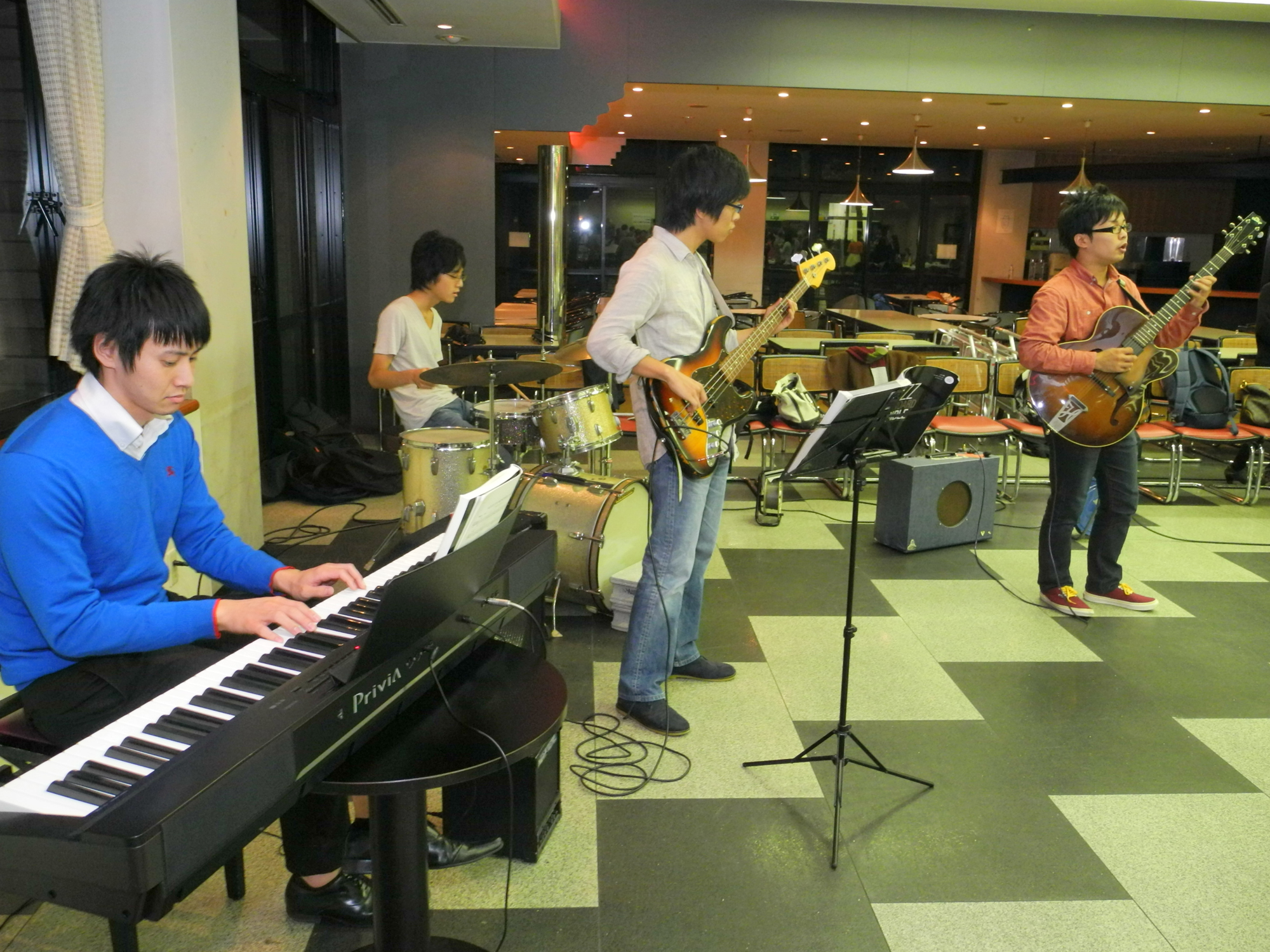 BGMはJazz Player's Clubの生演奏